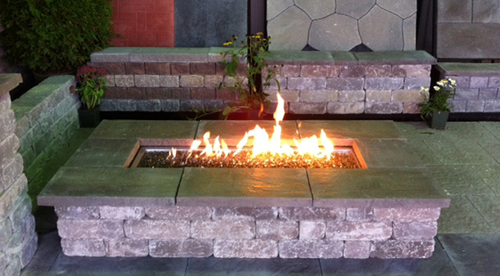 beauty and outdoor fireplaces stone brighton kitchen fireplace kits belgard kitchens products outside series pavers